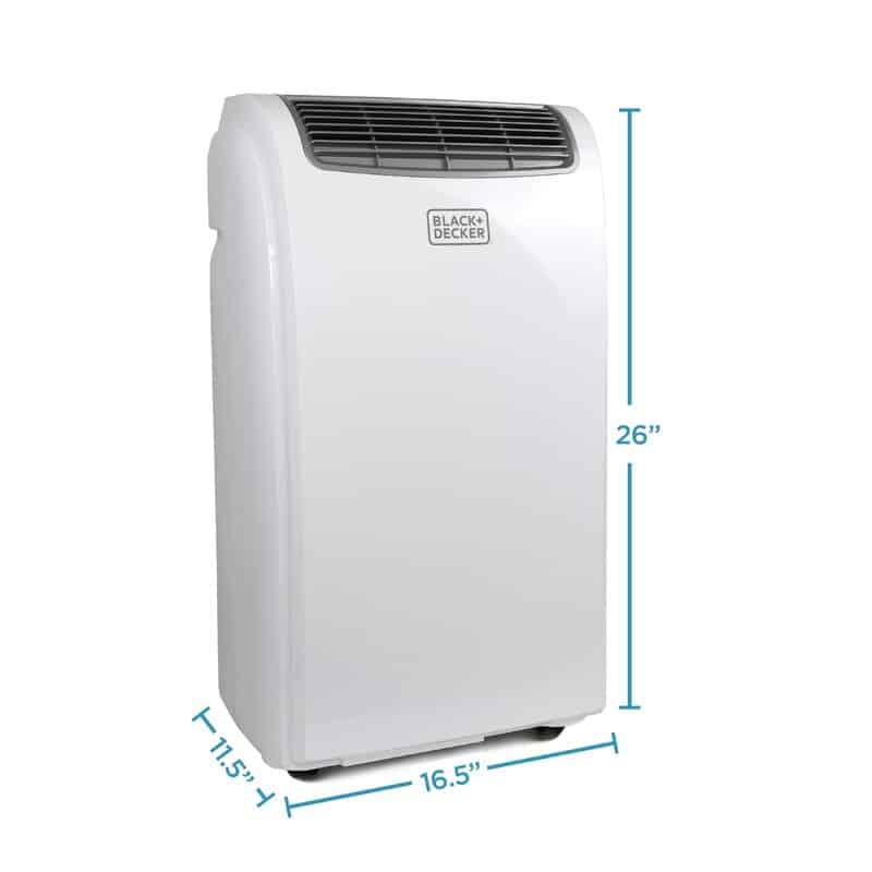 BLACK+DECKER BPACT12WT Portable Air Conditioner-best portable ac for 8x8 grow tent