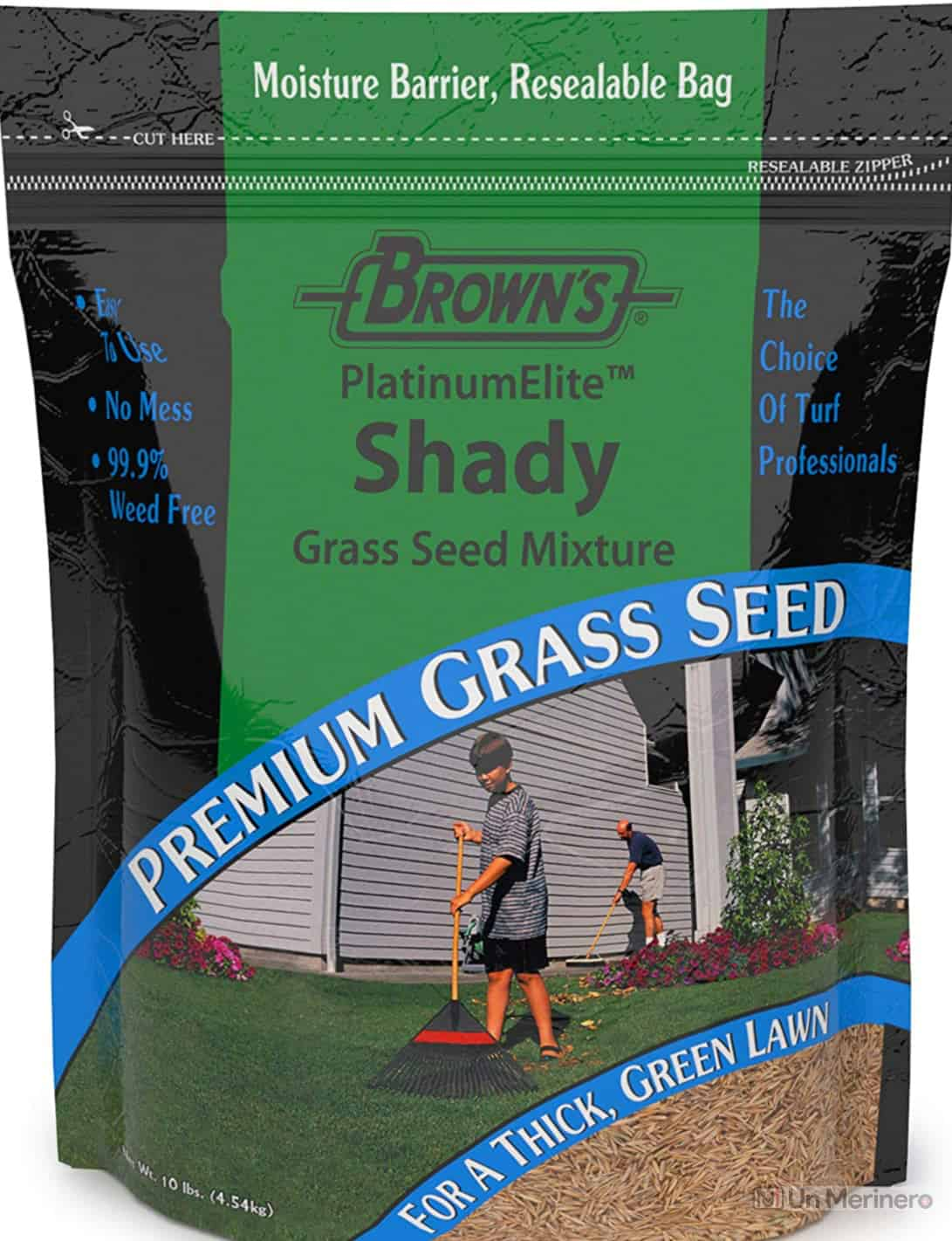 F.M. Brown's PlatinumElite Shady Grass Seed Mixture