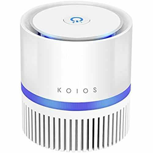 KOIOS Air Purifier with True HEPA Filter-best portable ac for 5x5 grow tent