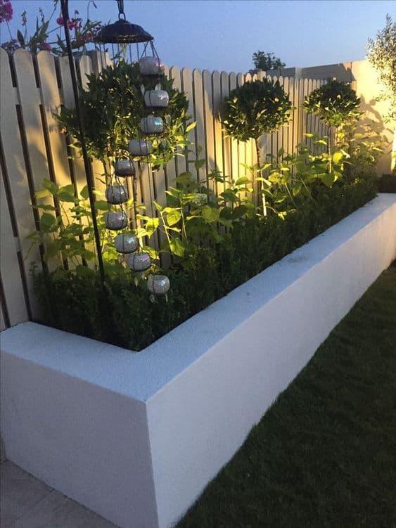 Rectangular Brick Planter Box