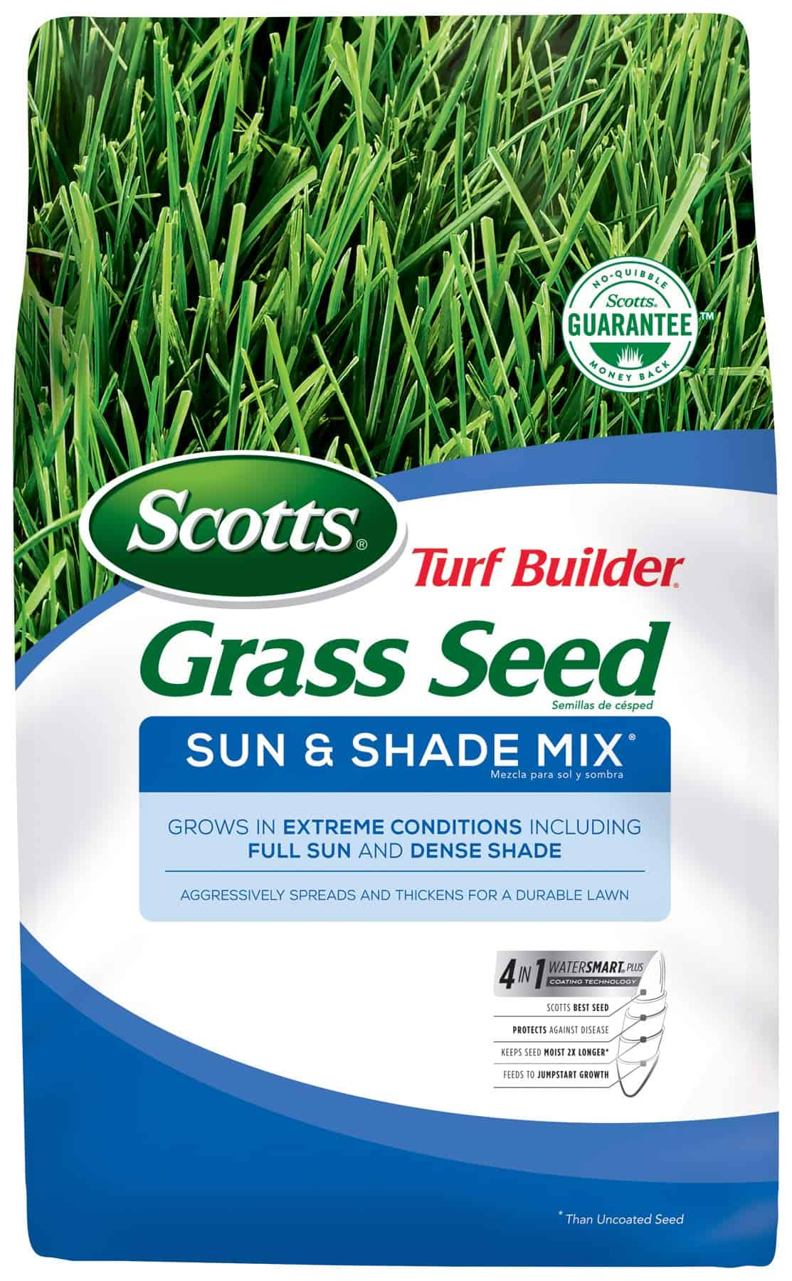 Scotts Turf Builder Grass Seed Sun and Shade Mix - Best grass seed for extreme heat