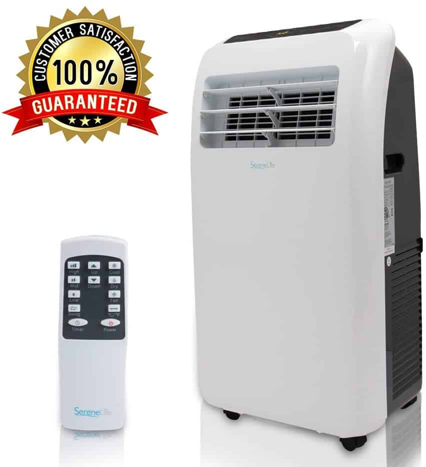 SereneLife SLPAC10 Portable Air Conditioner-best small ac for grow tent