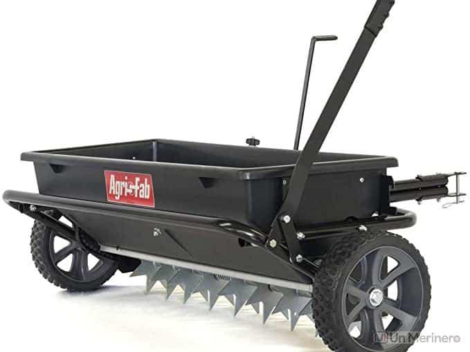 Agri-Fab 45-0543 100 lb. Tow Spiker/Seeder/Spreader - best seed spreader