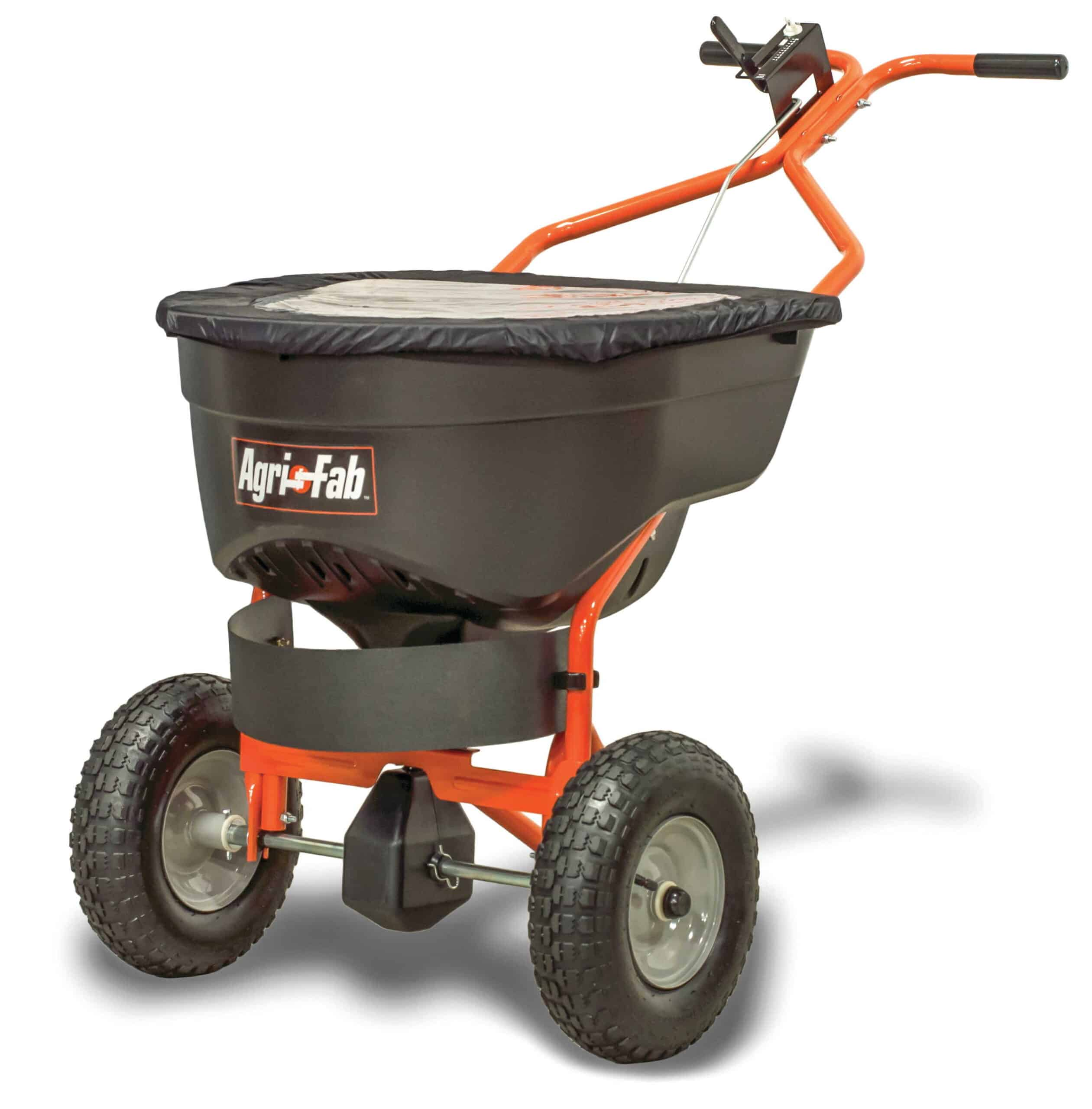 Agri-Fab Inc 130-Pound Push Broadcast Spreader - best fertiliser spreader for small lawn - best fertiliser spreader for small lawn