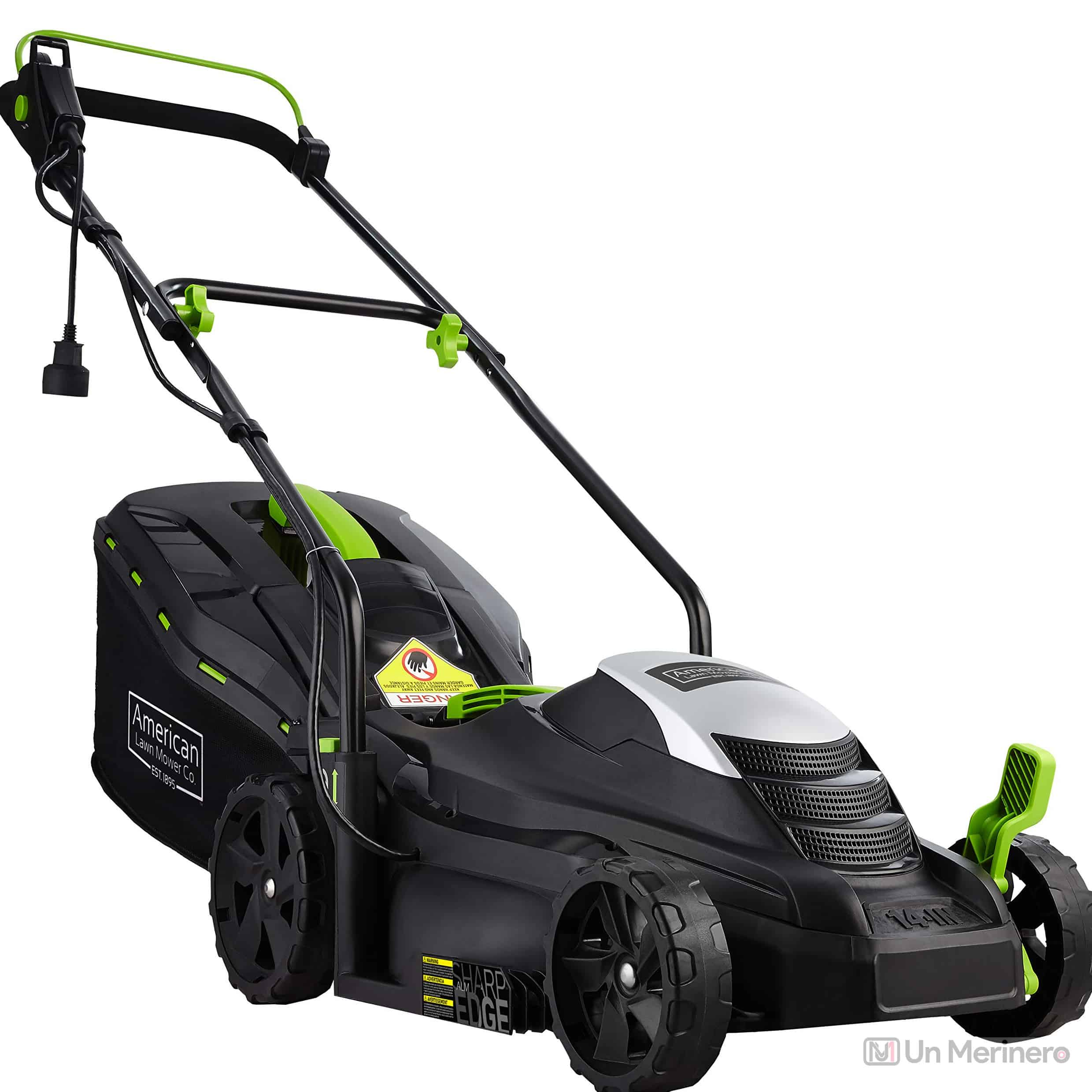 American Corded Electric Lawn Mower - Best heavy weight lawn mower for large yard