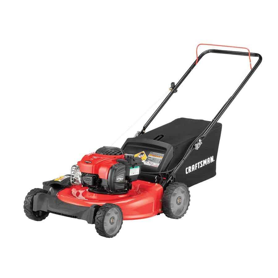 Craftsman M105 Gas Powered Push Lawn Mower - Best Gas Powered Push Lawn Mower