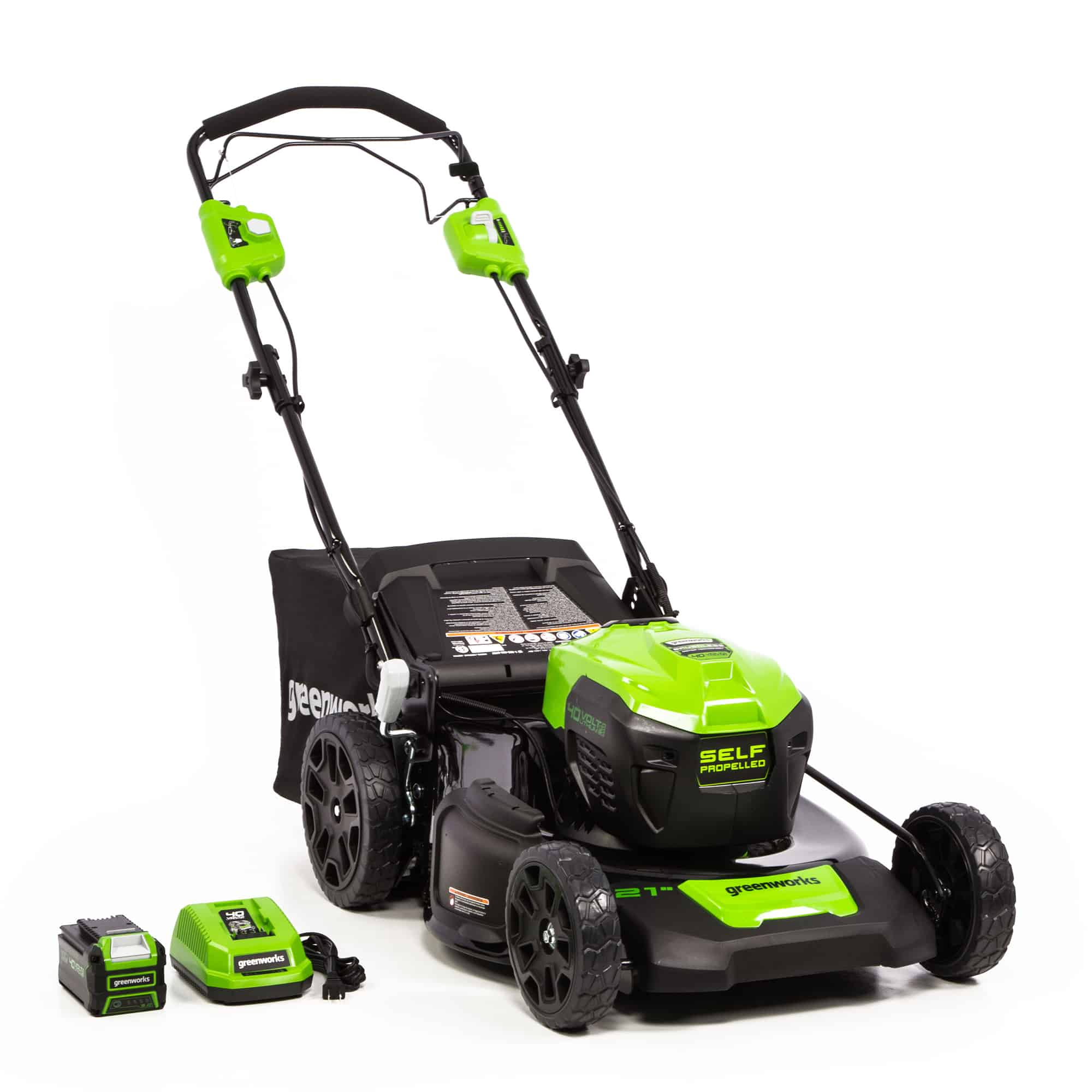 Greenworks Pro 21-Inch Cordless Push Lawn Mower - Best Cordless Push Lawn Mower