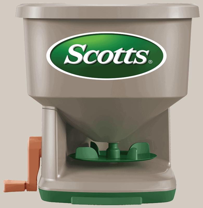 Scotts Whirl Hand-Powered Spreader - Best hand powered seeds spreader
