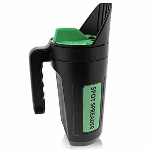 Spot Spreader Hand Spreader Shaker for Seed, Salt, De-Icer, Ice Melt, Earth Food and Fertilizer - best lawn spreader for seeds