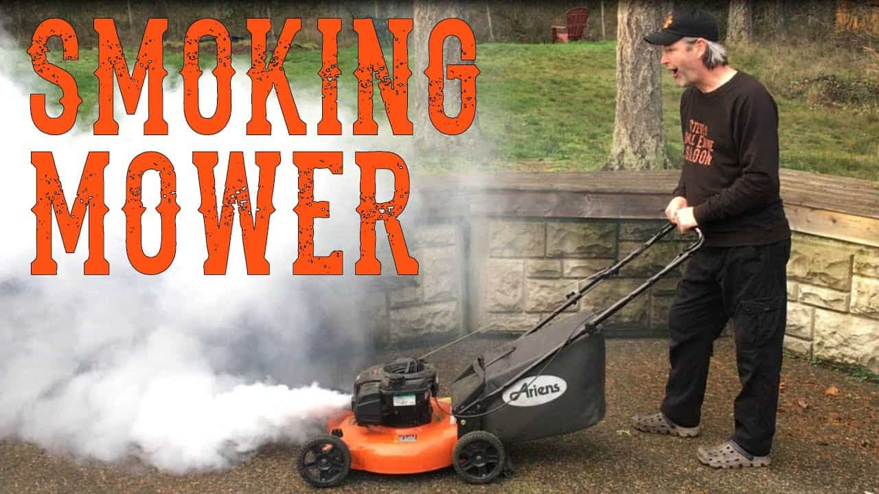 The Most Common Lawnmower Problems and Reasons (White smoke)