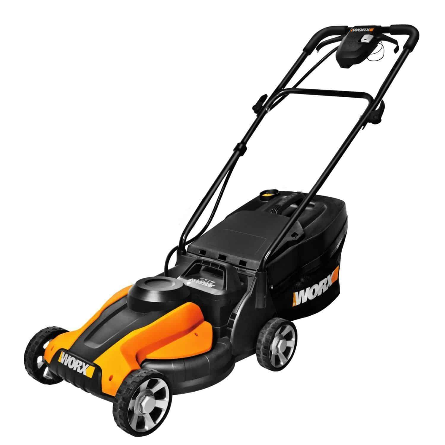 WORX WG779 40V Power Share Lawn Mower - best eco mode lawn mower for small lawn