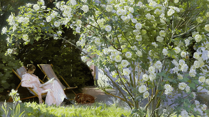 Best Painting of A Garden