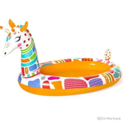 H2OGo Groovy Giraffe Sprayer Kids Pool - Best Inflatable kiddie pool
