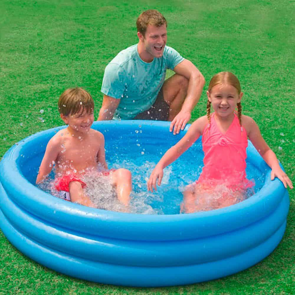 Intex Crystal Blue Inflatable Pool - Best inflatable pool for kids
