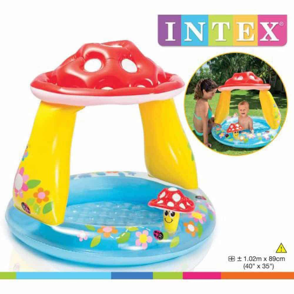 Intex Mushroom baby Pool - Best mashroom baby pool
