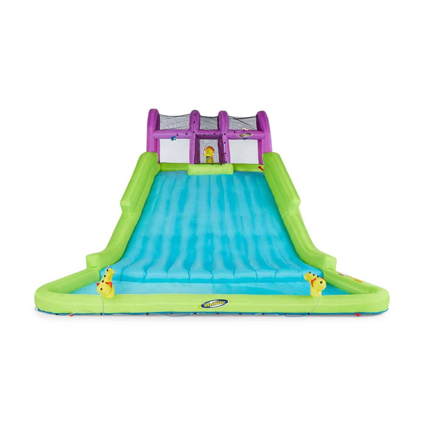 Kahuna 90808 Mega Blast Inflatable Backyard Kids Pool and Slide Water Park - Best kiddie pool with slider