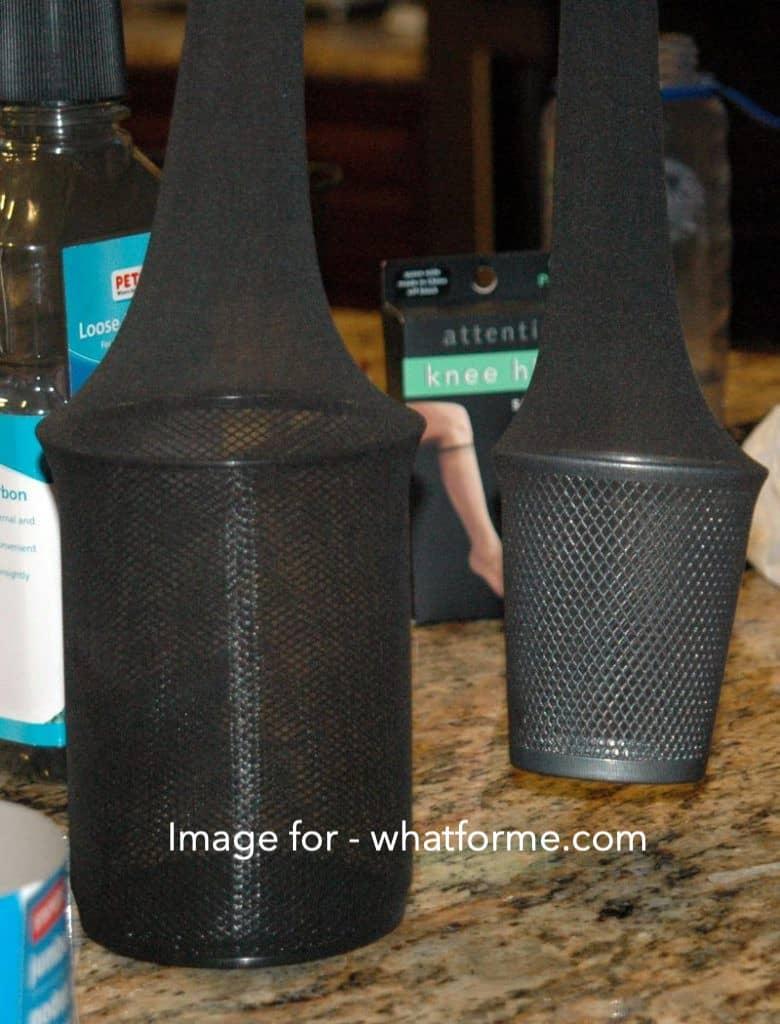 DIY-Carbon-Filter-for-Grow-Room-Put the jars - step 2