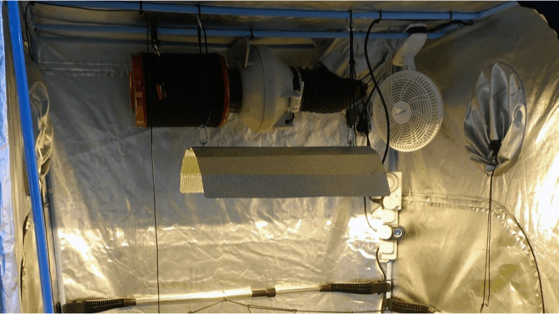 How To Hang Oscillating Fan In Grow Tent