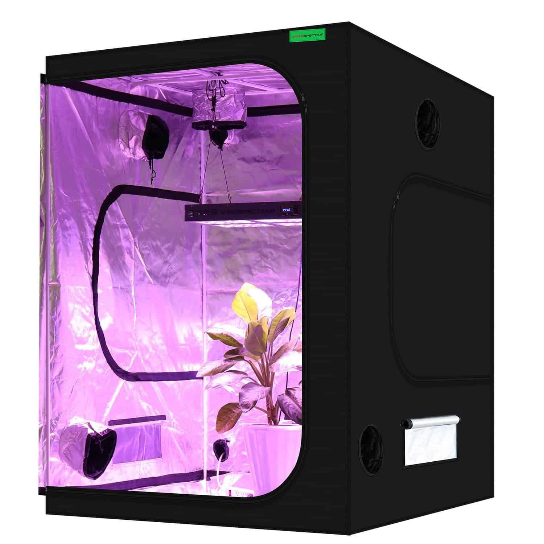 "Best 5x5 Grow Tent - VIPARSPECTRA 60""x60""x80"" Grow Room"