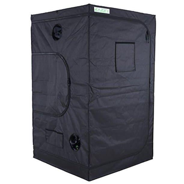 """Best Compact 4x4 Grow Tent - Zazzy 48""""x48""""x78"""" Grow Tent"""