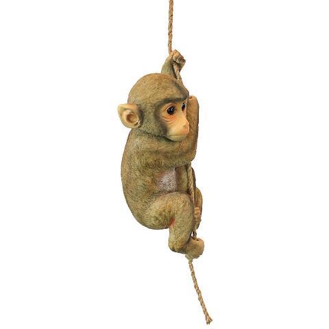 Best Monkey Statue For Garden - Chico the Chimpanzee Baby Monkey
