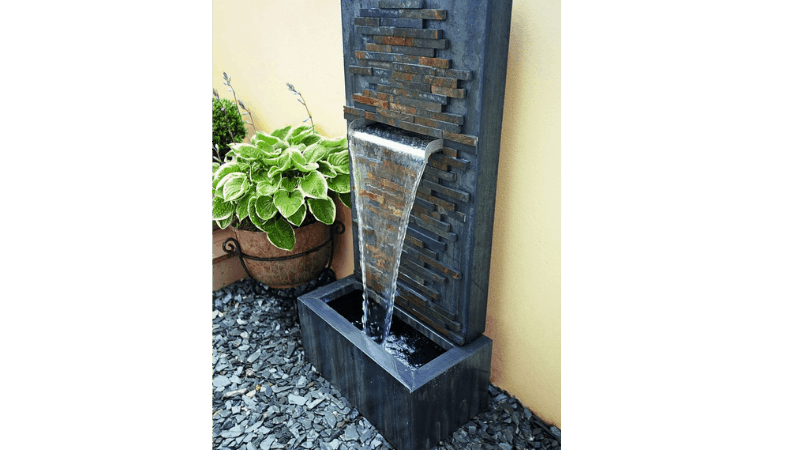 Best small space outdoor wall fountain ideas