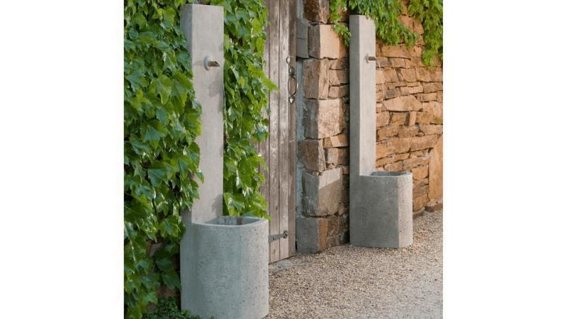 Echo Wall Water Fountain - Outdoor Wall Fountain Ideas