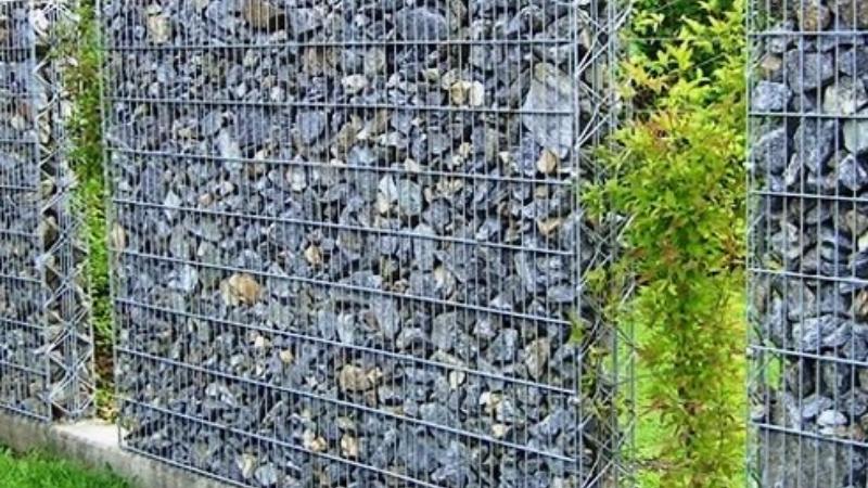 Gabion Fence for garden Fencing