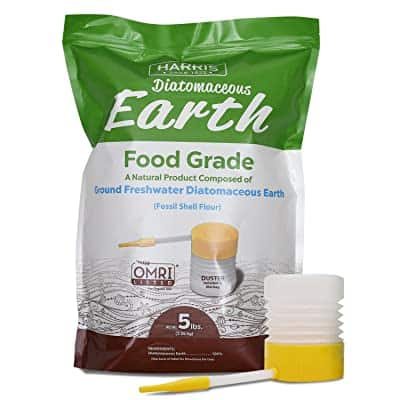 HARRIS Diatomaceous Earth Food Grade - Best food grade pesticide - Best organic edible insecticide