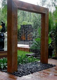 Quick-witted Outdoor Wall fountain Design