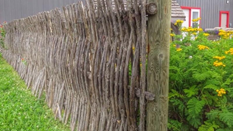 Wattle Fencing for garden Fencing