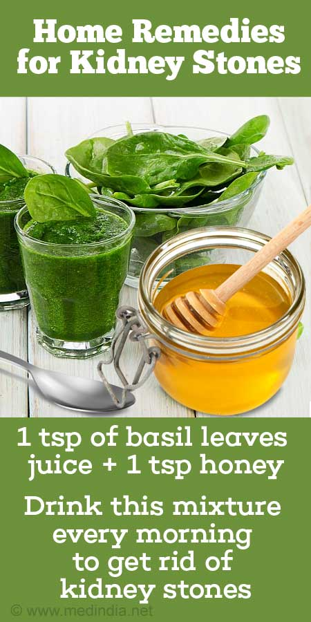 Basil Can Efficiently Cures Nephrolithiasis