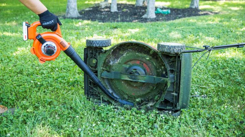 Dirty Spark Plug, Air Filter, Or Blade