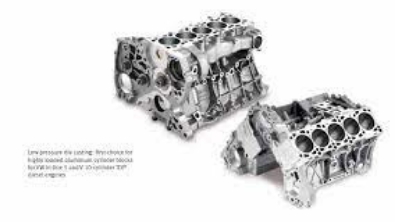 High Pressure Die Cast Aluminum Block And Heads