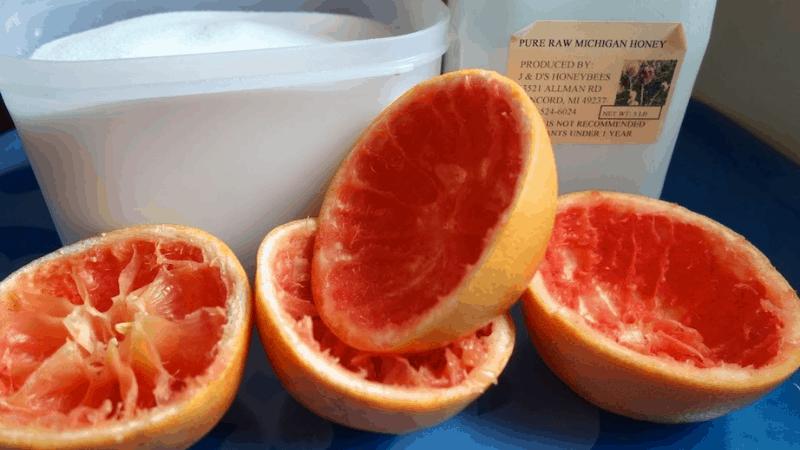 How To kill slugs with grapefruit peel