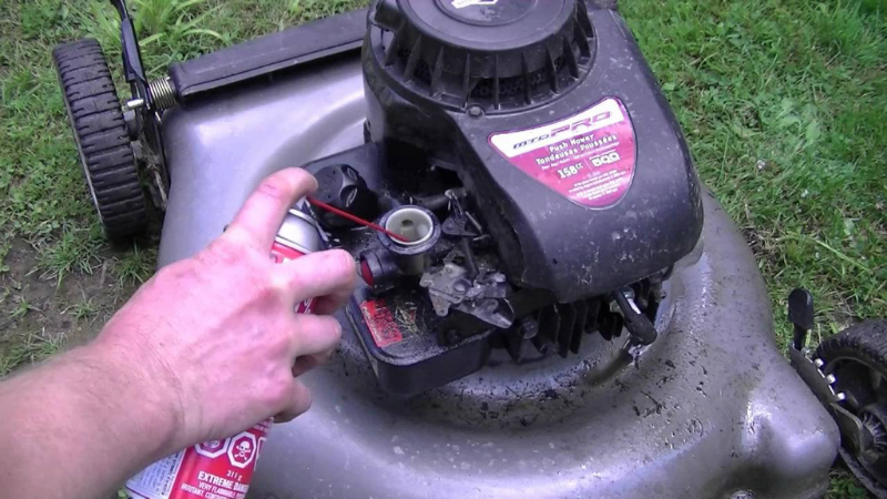 How to fix Hydro-locked lawn mower