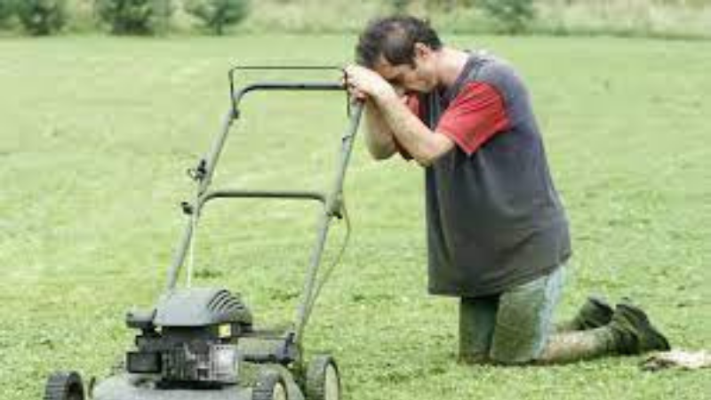 Never Run Your Mower Without The Blade