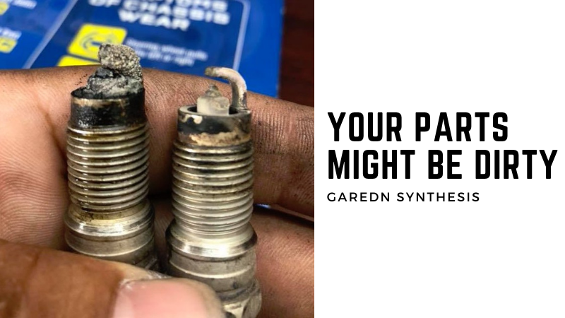 What Causes A Lawn Mower Spark Plug To Turn Black - Your Parts Might Be Dirty