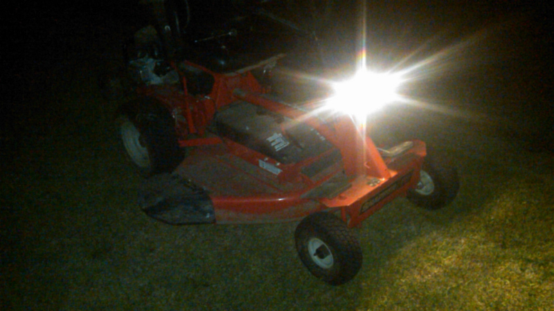 What Would Drain A Lawnmower Battery - Forget To Turn Off The Headlight