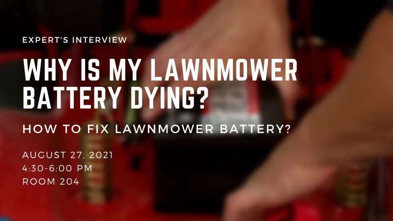 Why Is My Lawnmower Battery Dying - How to fix Lawnmower battery