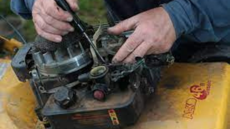 Why My Lawn Mower Stops Running After A While - Clogged Or Dirty Carburetor