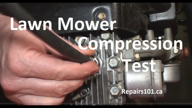 Why My Lawn Mower Stops Running After A While - Compression Issue