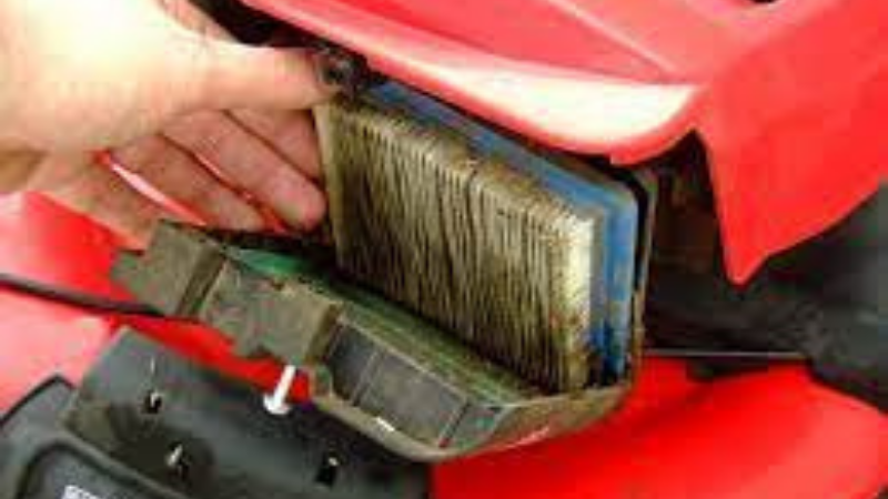 Why My Lawn Mower Stops Running After A While - Lawn Mower Dirty Air Filter
