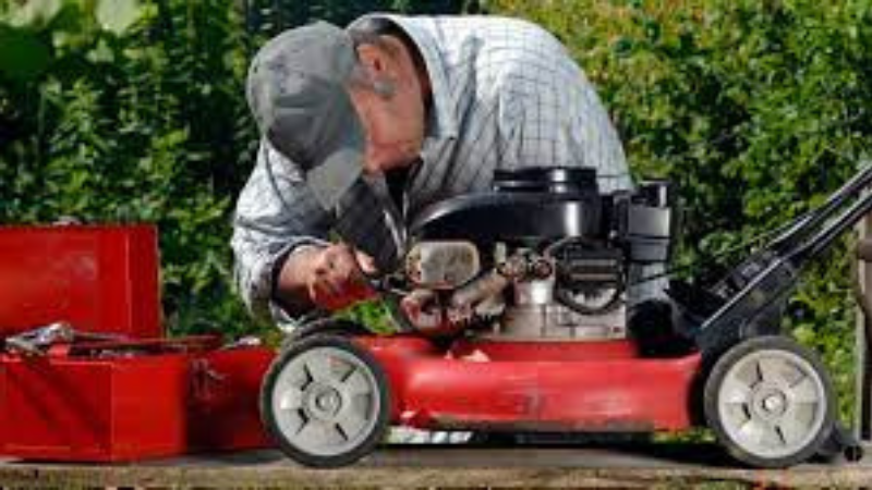 Why My Lawn Mower Stops Running After A While - Lawn Mower Power Supply Issue