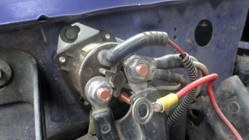 Will A Bad Solenoid Drain Battery On A Lawnmower?