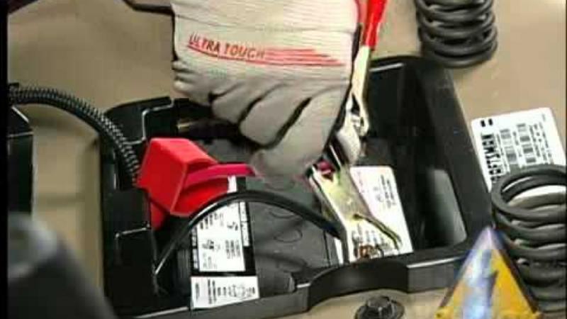 fixing a dead lawn mower battery