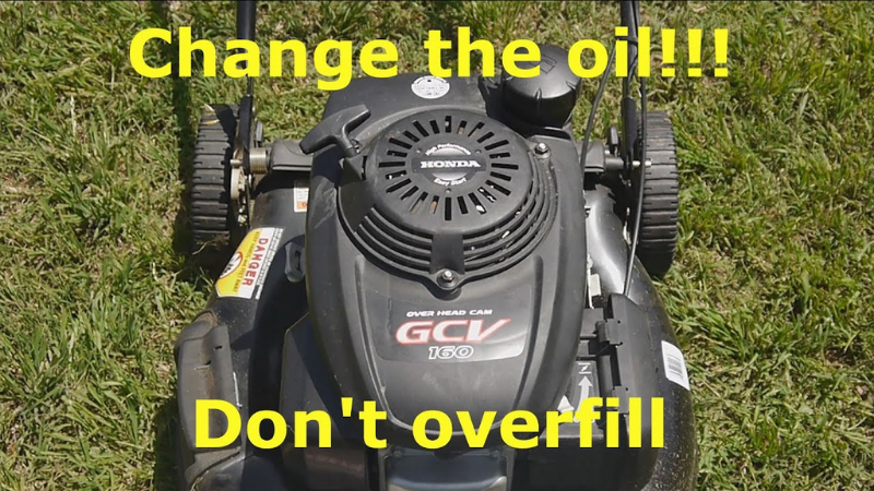why should you not exceed your Honda 160cc lawn mower engine oil capacity?