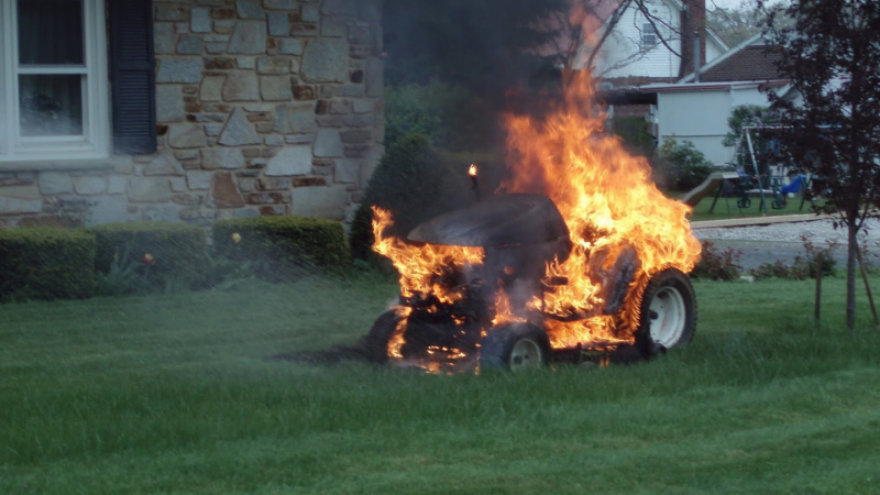 Can A Lawn Mower Explode?