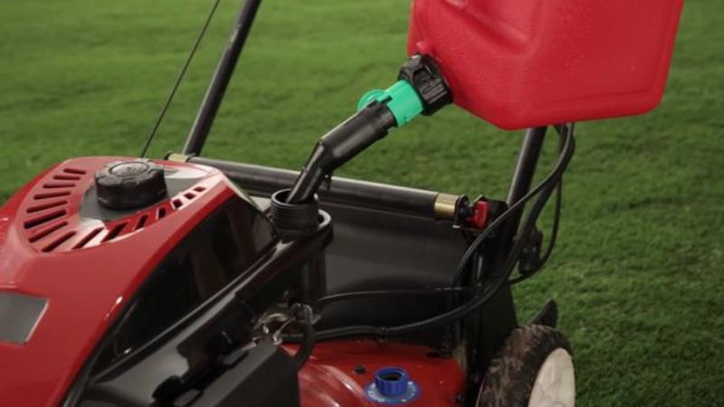 Lack Of Fuel in Lawnmower