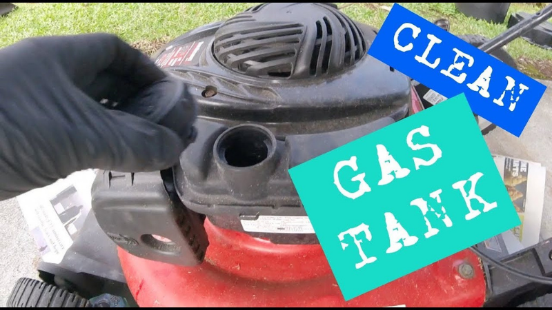 Proper Cleaning For Gas Tank